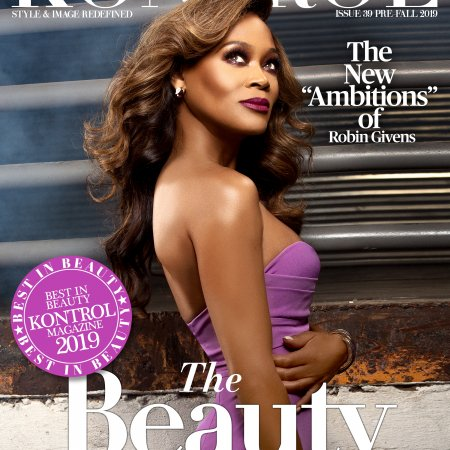 Robin Givens Covers Kontrol Magazine Beauty Issue