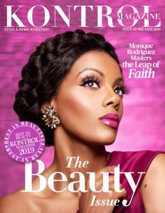 Monique Rodriguez Covers Kontrol Magazine Beauty Issue