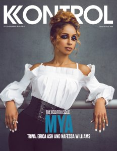 Mya Covers Kobtrol Magazine