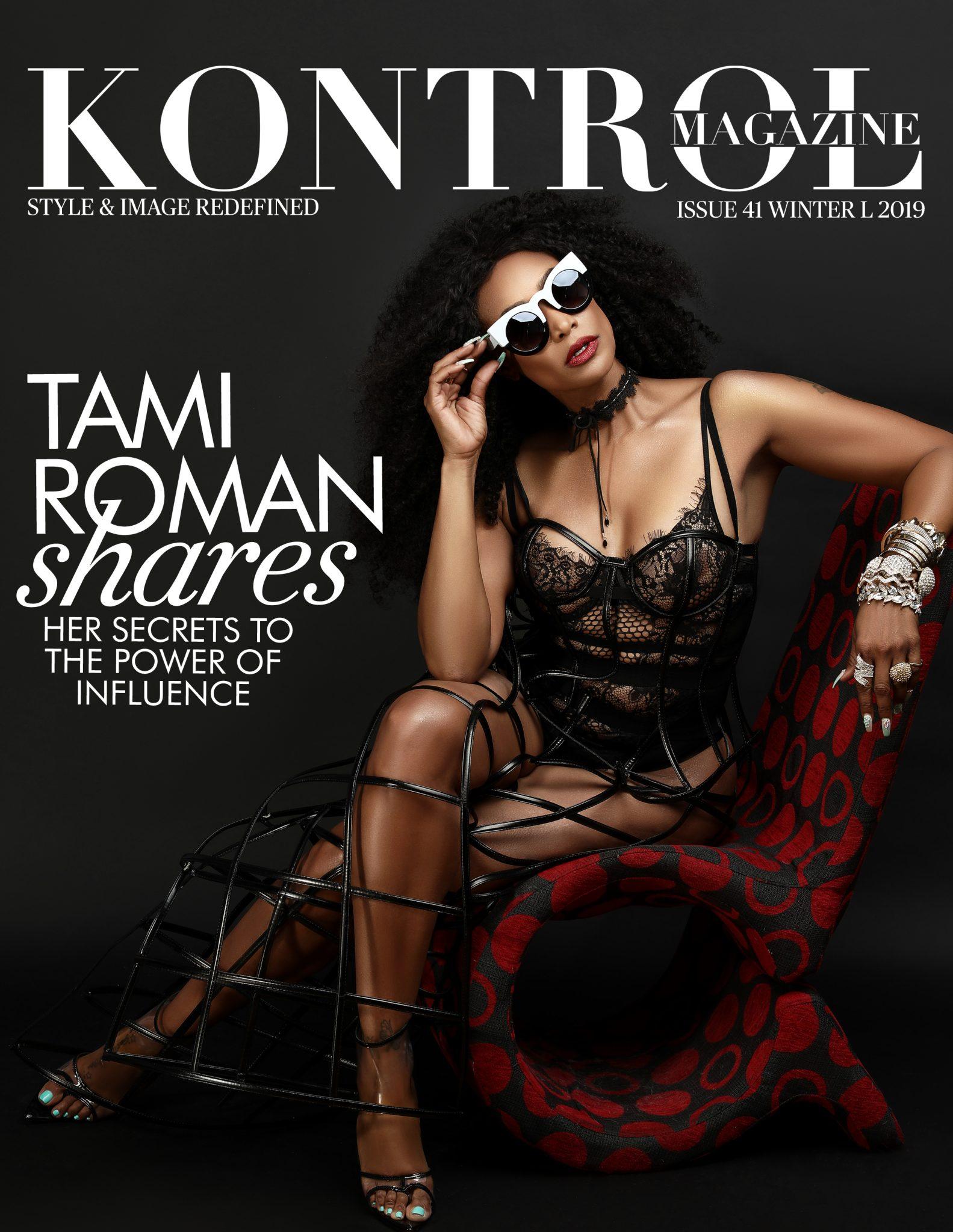 Tami Roman Covers Kontrol Magazine