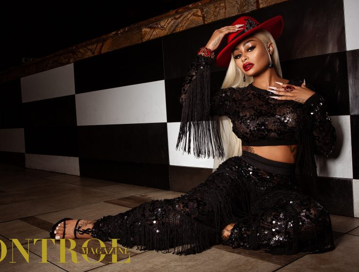 Blac Chyna for Kontrol Magazine
