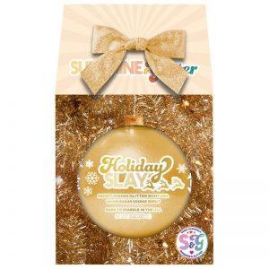 Holiday Slay Moisturizing Gold Glitter Body Gel