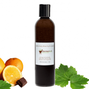 Orange & Patchouli Chocolate Shower Gel Infused with Argan Oil