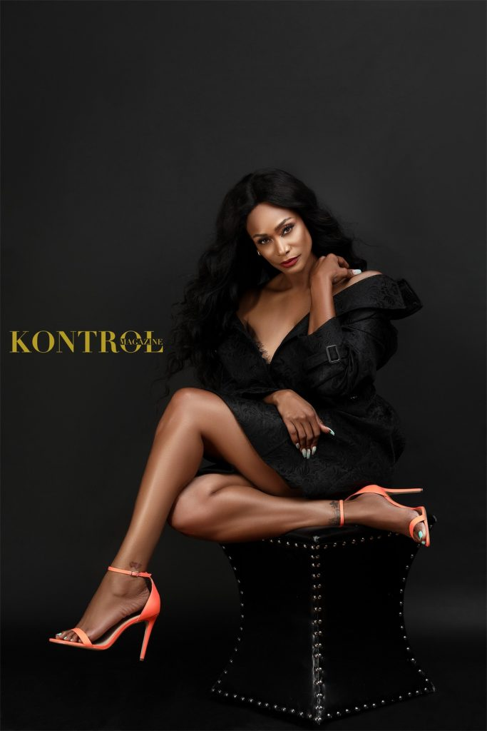 Tami Roman for Kontrol magazine