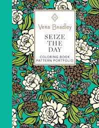 vera bradley seize the day coloring book