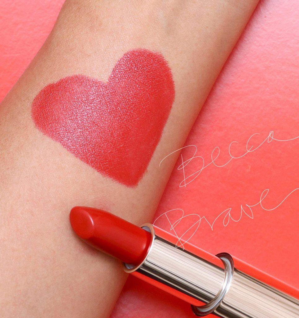 Becca Cosmetics' red lip stick blac chyna beauty tips hey mikey atl