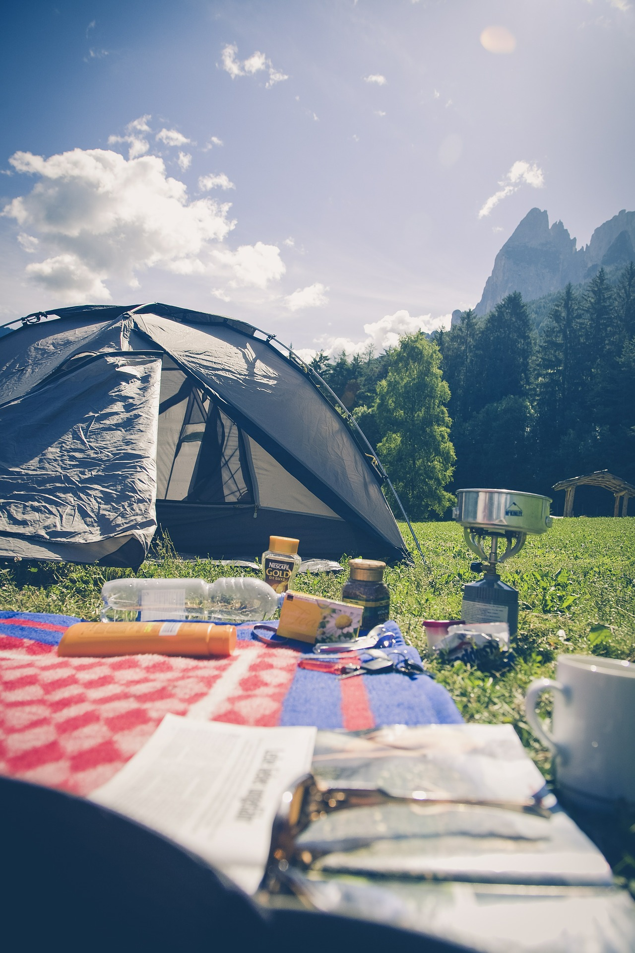 Family Camping Hacks & Tips